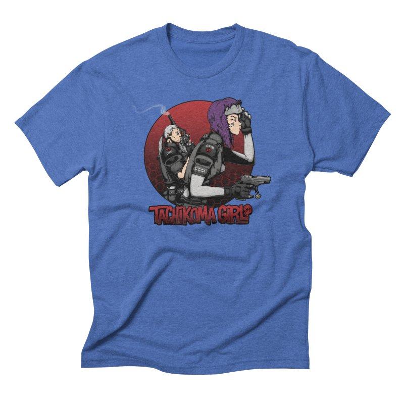 Tachikoma Girl 2.0 Men's Triblend T-shirt by Pigboom's Artist Shop