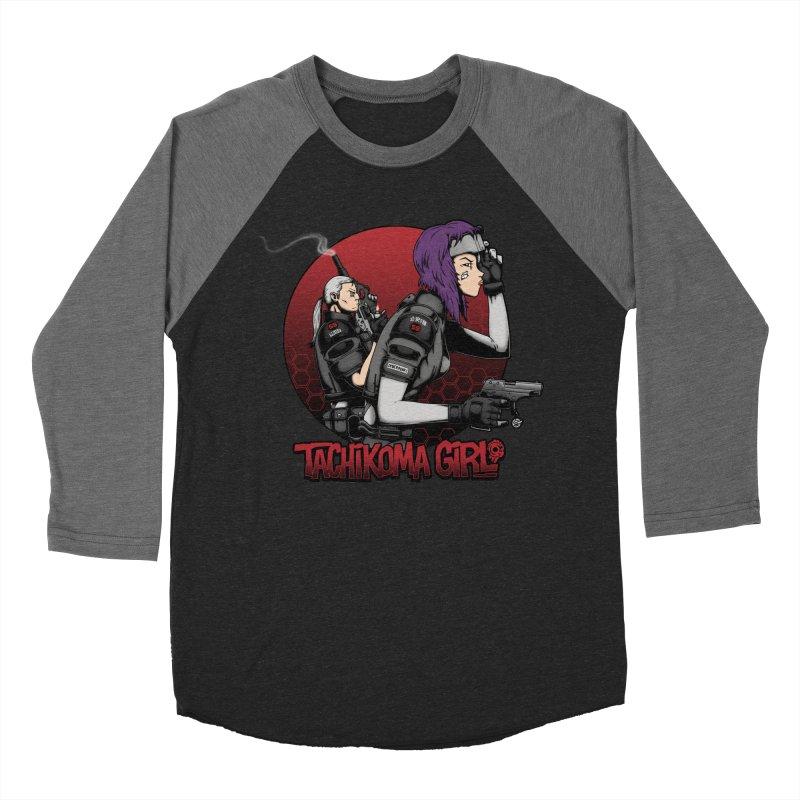 Tachikoma Girl 2.0 Women's Baseball Triblend T-Shirt by Pigboom's Artist Shop