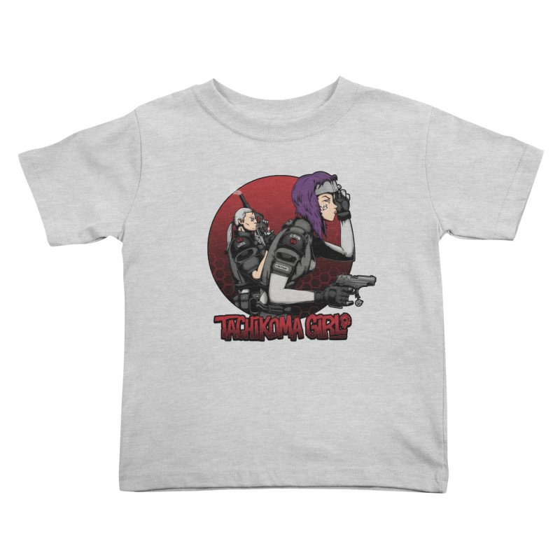 Tachikoma Girl 2.0 Kids Toddler T-Shirt by Pigboom's Artist Shop