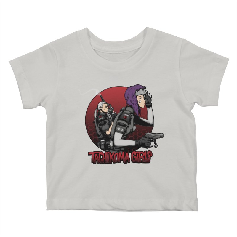 Tachikoma Girl 2.0 Kids Baby T-Shirt by Pigboom's Artist Shop