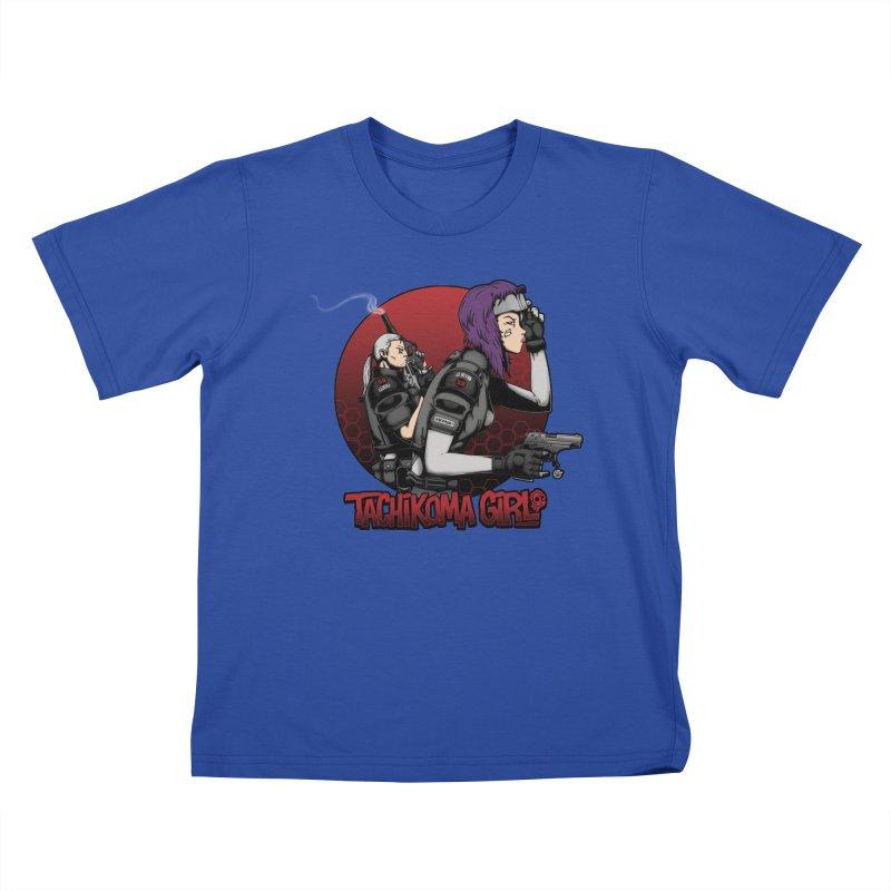 Tachikoma Girl 2.0 Kids T-shirt by Pigboom's Artist Shop