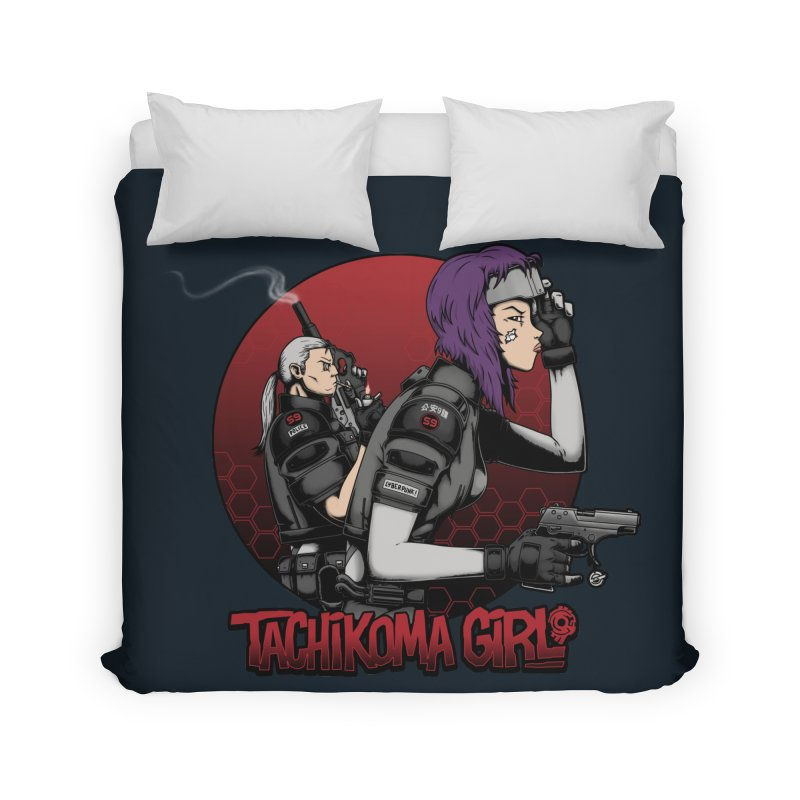 Tachikoma Girl 2.0 Home Duvet by Pigboom's Artist Shop