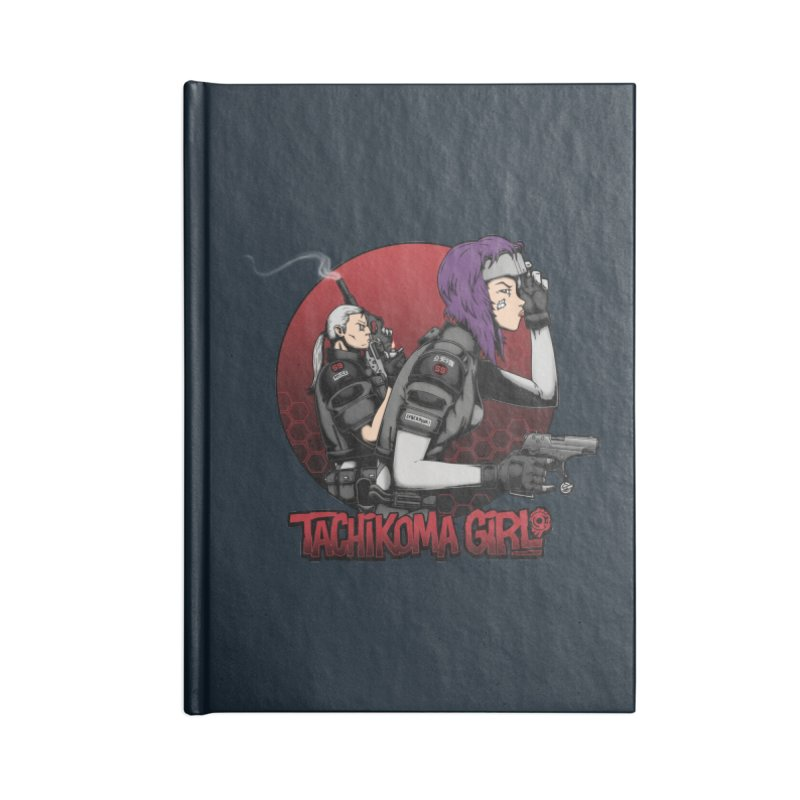 Tachikoma Girl 2.0 Accessories Notebook by Pigboom's Artist Shop