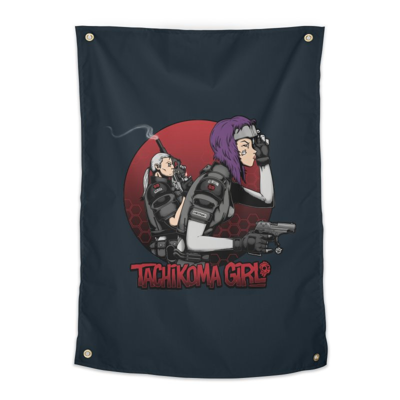 Tachikoma Girl 2.0 Home Tapestry by Pigboom's Artist Shop