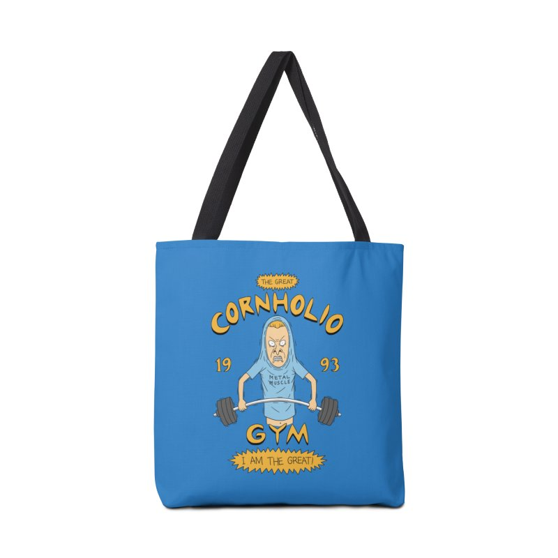 Great Cornholio's Gym Accessories Bag by Pigboom's Artist Shop