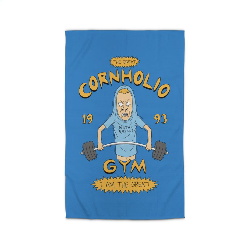Great Cornholio's Gym Home Rug by Pigboom's Artist Shop