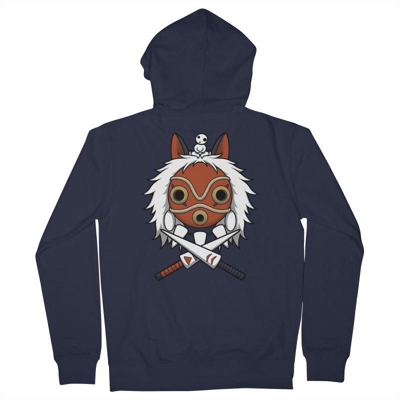 Forest Protector Women's Zip-Up Hoody by Pigboom's Artist Shop