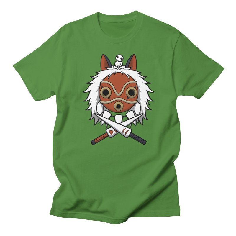 Forest Protector Men's T-shirt by Pigboom's Artist Shop