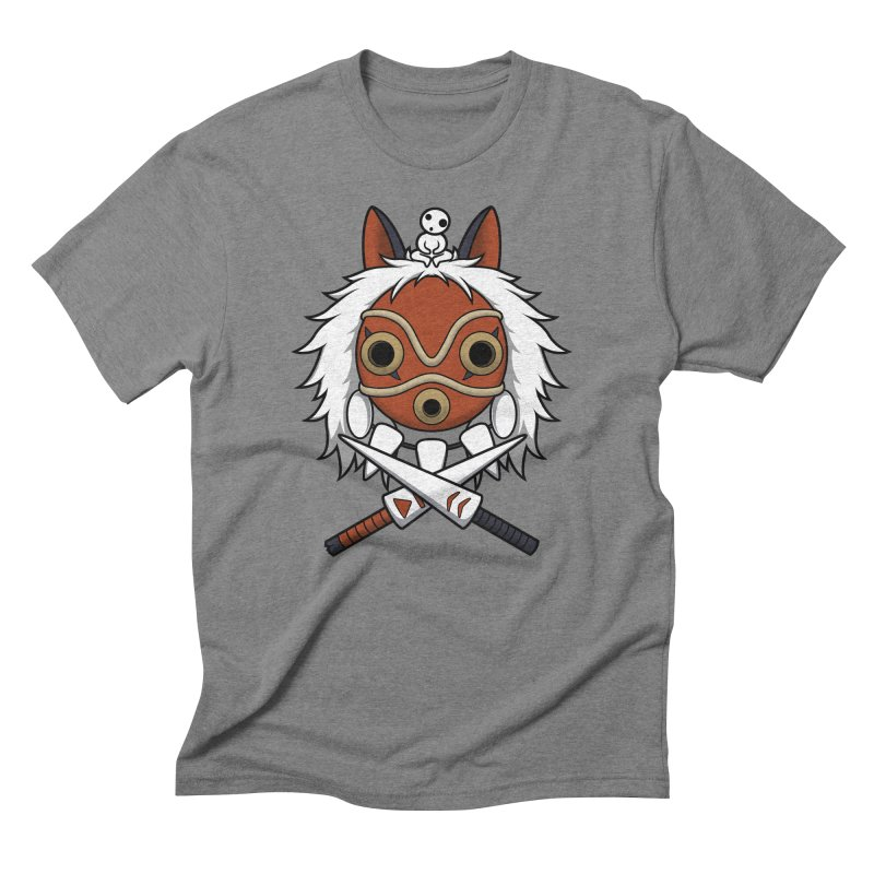Forest Protector Men's Triblend T-shirt by Pigboom's Artist Shop