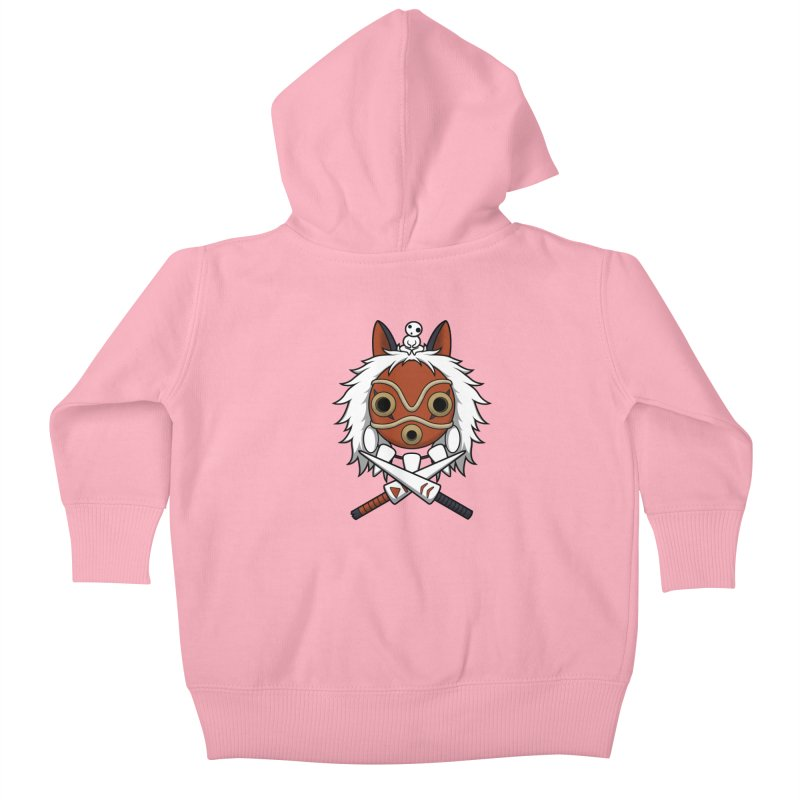 Forest Protector Kids Baby Zip-Up Hoody by Pigboom's Artist Shop