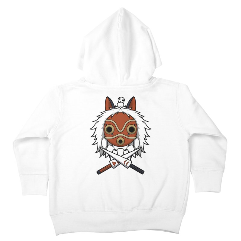 Forest Protector Kids Toddler Zip-Up Hoody by Pigboom's Artist Shop
