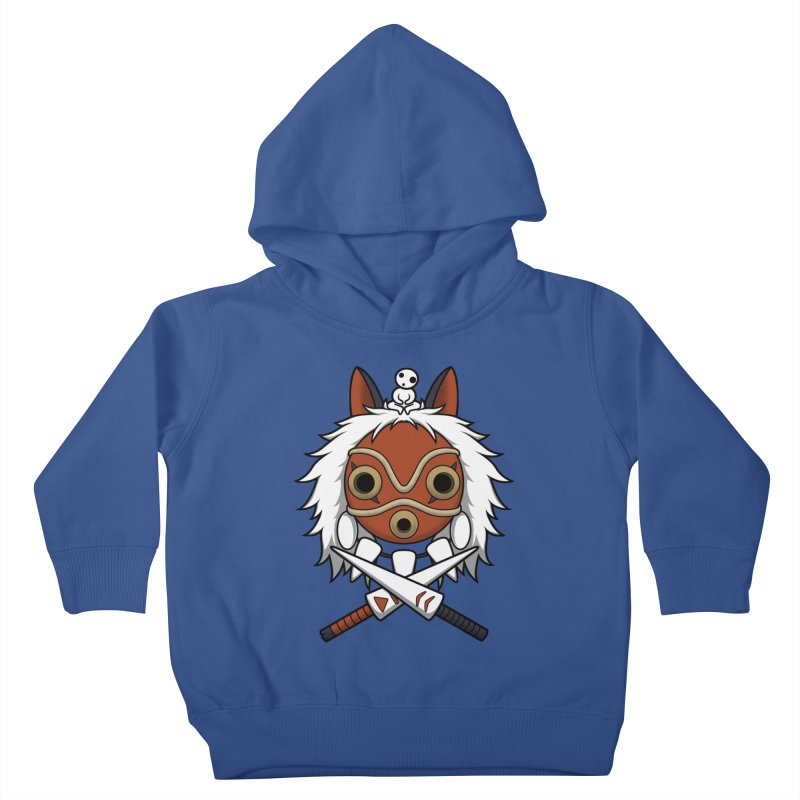 Forest Protector Kids Toddler Pullover Hoody by Pigboom's Artist Shop