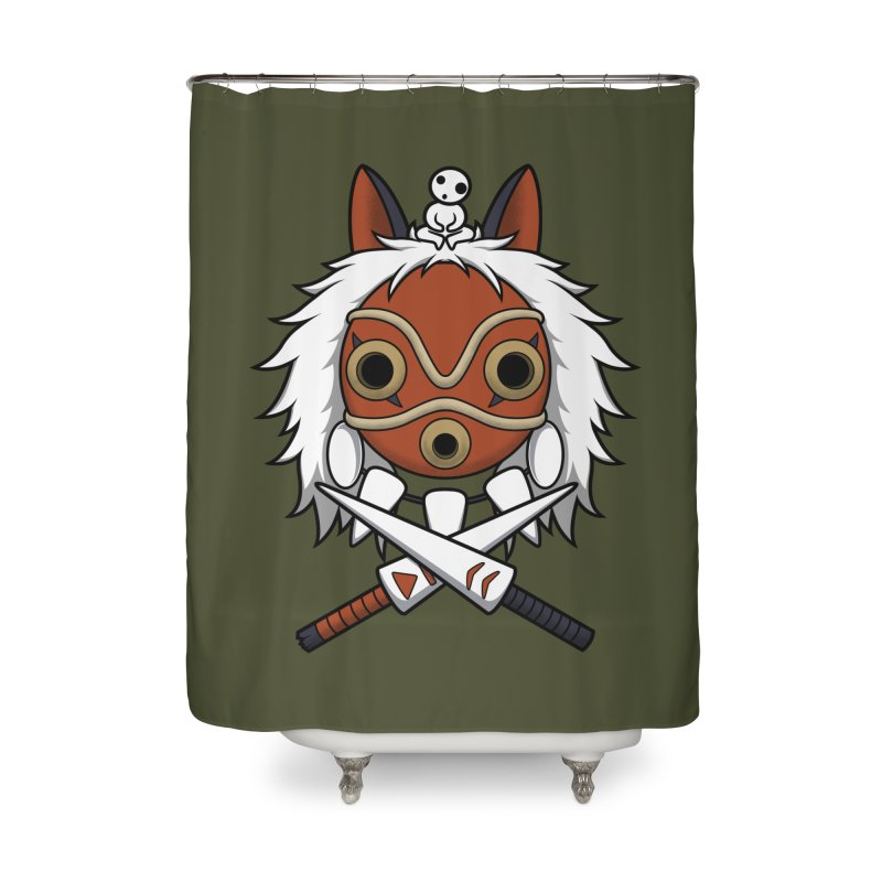Forest Protector Home Shower Curtain by Pigboom's Artist Shop