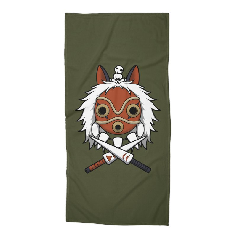 Forest Protector Accessories Beach Towel by Pigboom's Artist Shop