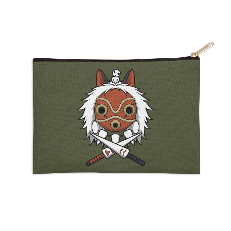 Forest Protector Accessories Zip Pouch by Pigboom's Artist Shop