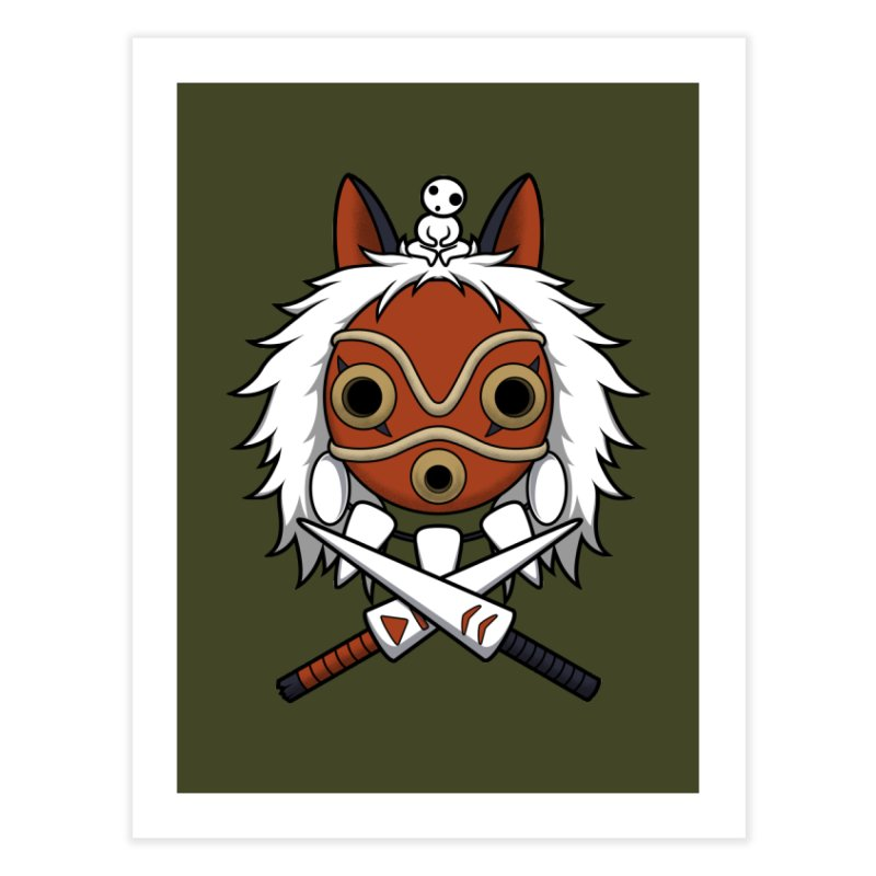 Forest Protector Home Fine Art Print by Pigboom's Artist Shop