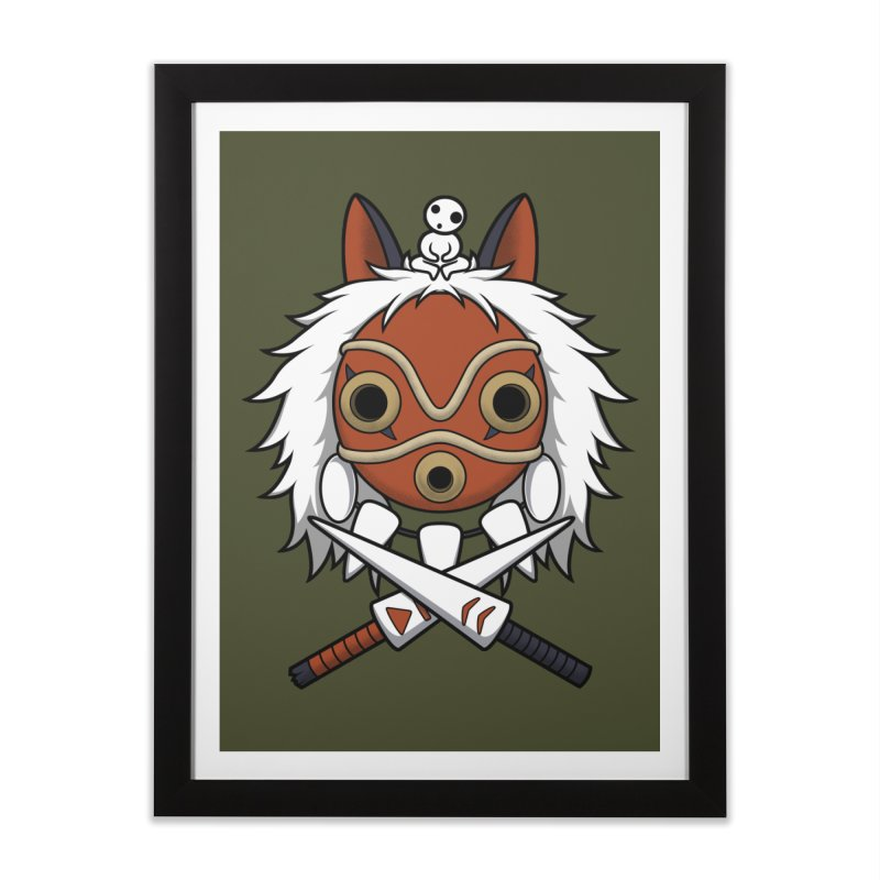 Forest Protector Home Framed Fine Art Print by Pigboom's Artist Shop