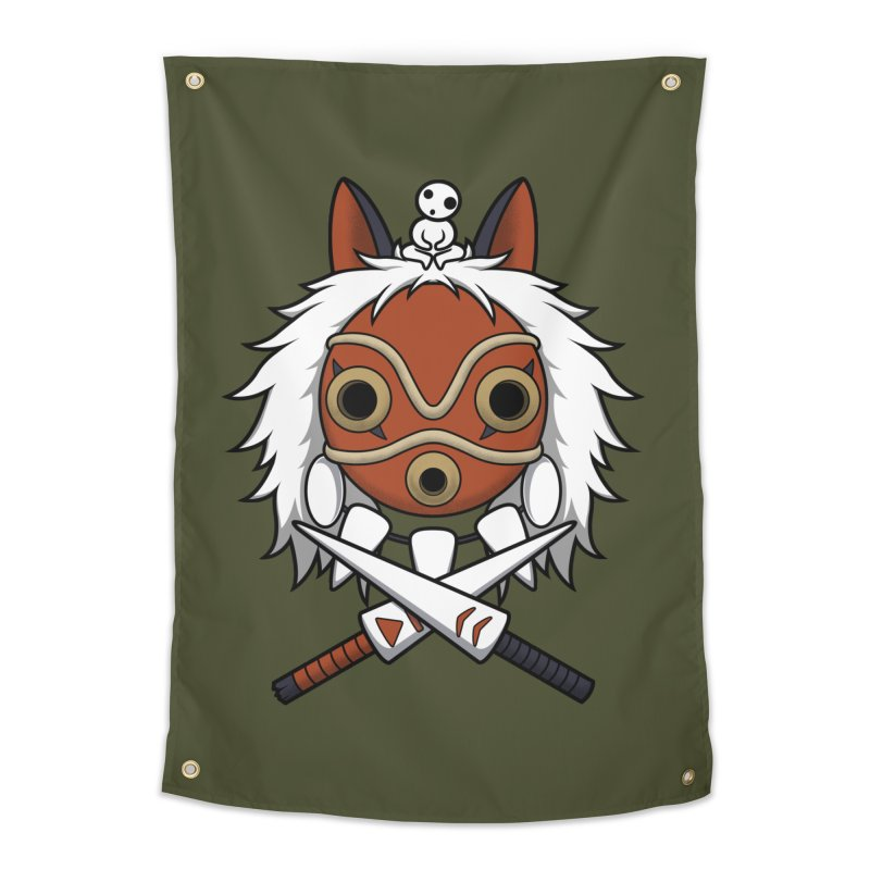 Forest Protector Home Tapestry by Pigboom's Artist Shop