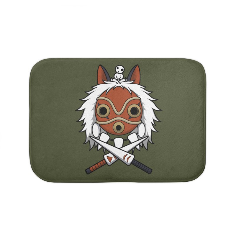 Forest Protector Home Bath Mat by Pigboom's Artist Shop