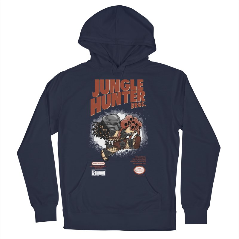 Super Jungle Hunter Bros. Men's Pullover Hoody by Pigboom's Artist Shop