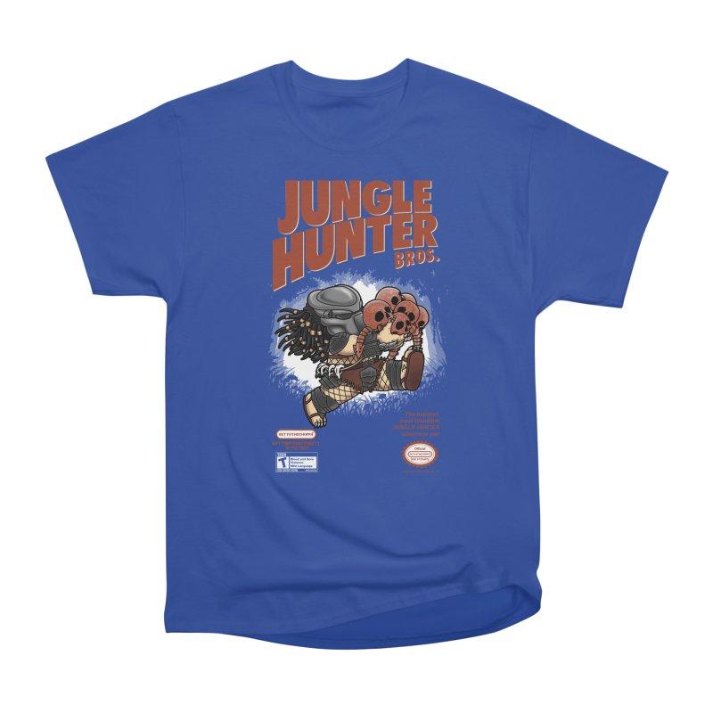 Super Jungle Hunter Bros. Men's Classic T-Shirt by Pigboom's Artist Shop