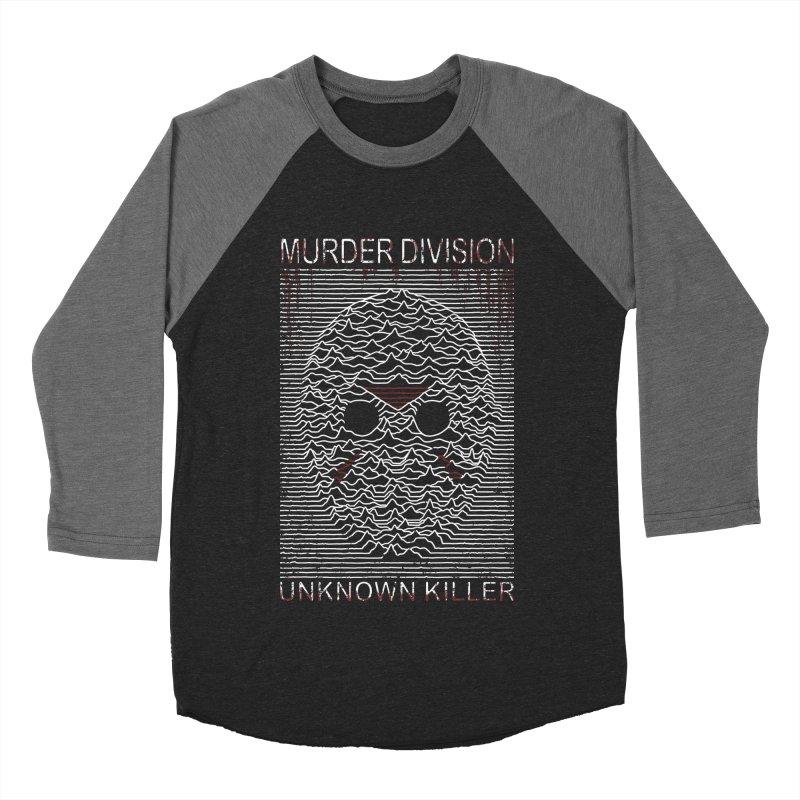 Murder Division Men's Baseball Triblend T-Shirt by Pigboom's Artist Shop