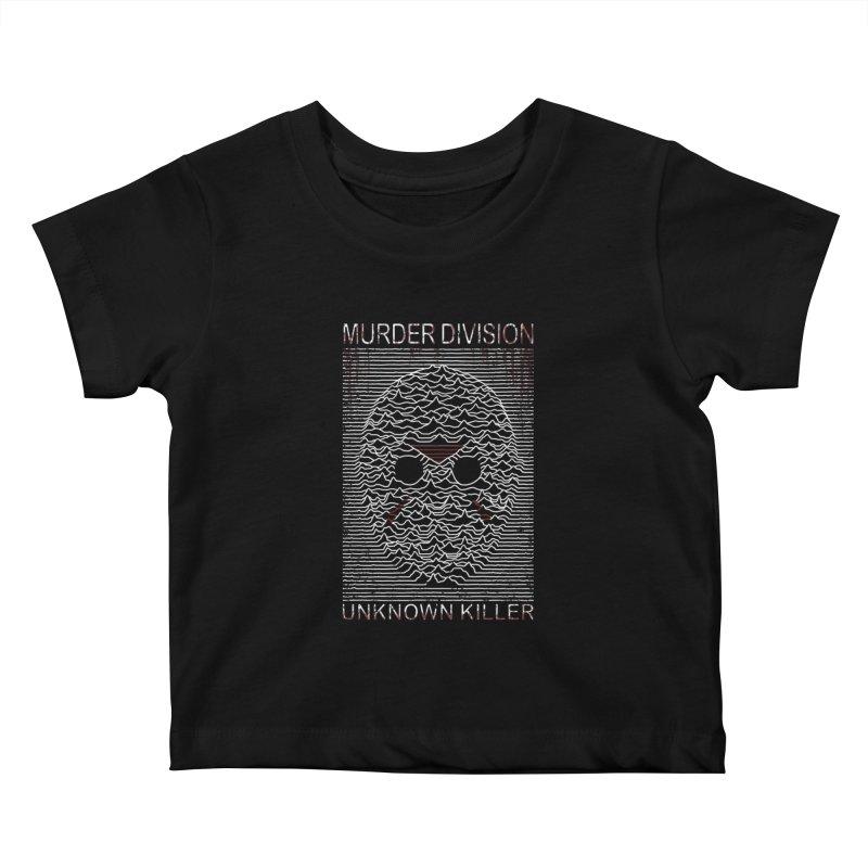 Murder Division Kids Baby T-Shirt by Pigboom's Artist Shop