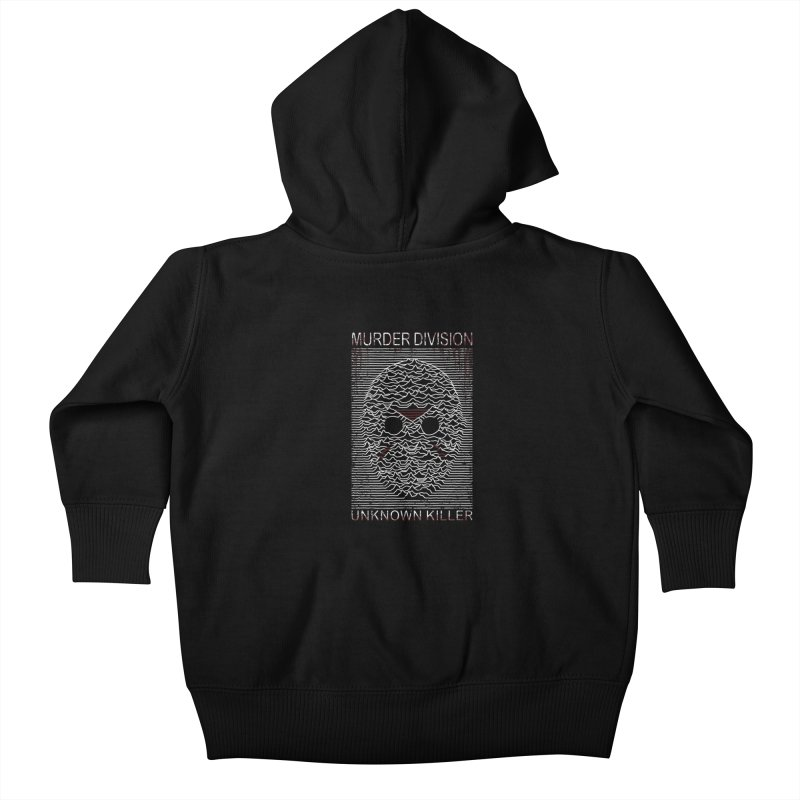 Murder Division Kids Baby Zip-Up Hoody by Pigboom's Artist Shop