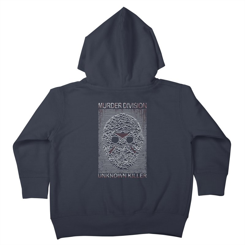 Murder Division Kids Toddler Zip-Up Hoody by Pigboom's Artist Shop