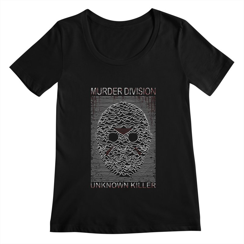 Murder Division Women's Scoopneck by Pigboom's Artist Shop
