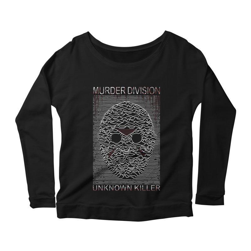 Murder Division Women's Longsleeve Scoopneck  by Pigboom's Artist Shop