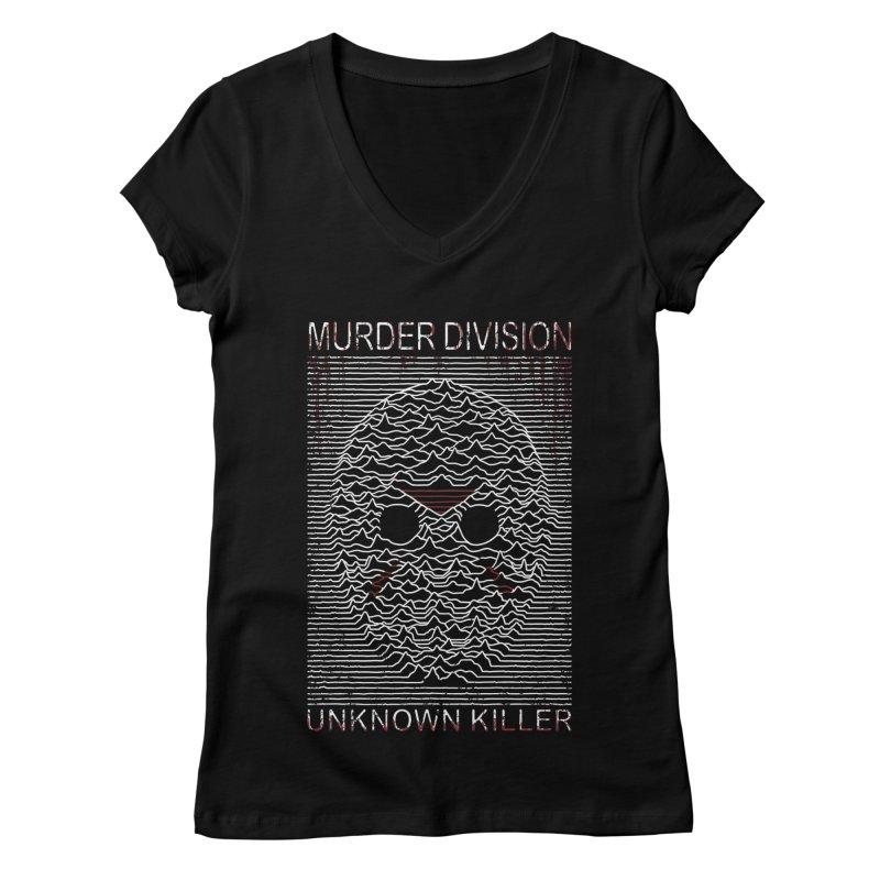 Murder Division Women's V-Neck by Pigboom's Artist Shop