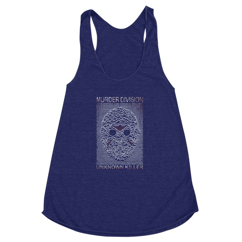 Murder Division Women's Racerback Triblend Tank by Pigboom's Artist Shop