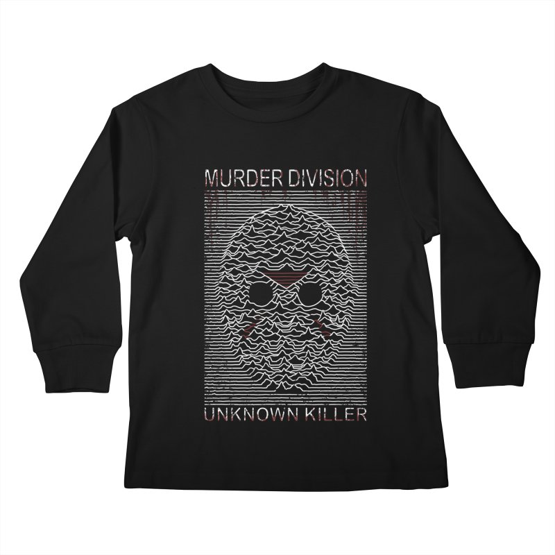 Murder Division Kids Longsleeve T-Shirt by Pigboom's Artist Shop