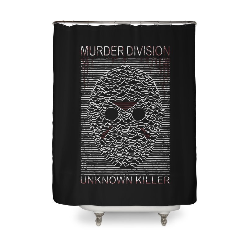 Murder Division Home Shower Curtain by Pigboom's Artist Shop