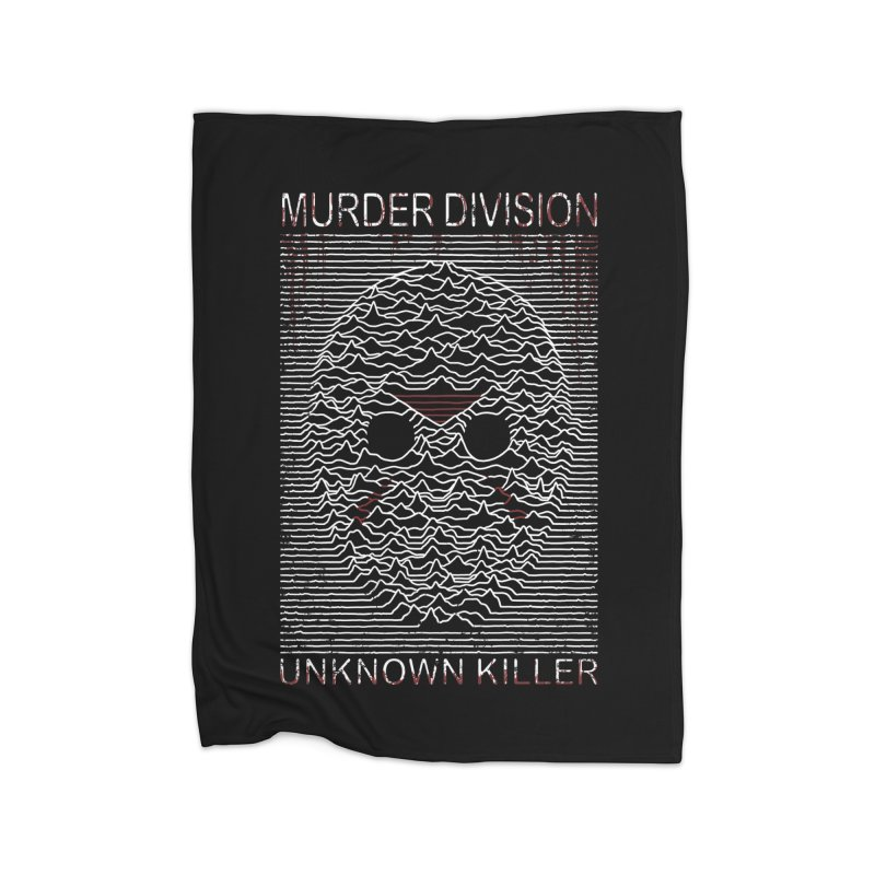 Murder Division Home Blanket by Pigboom's Artist Shop