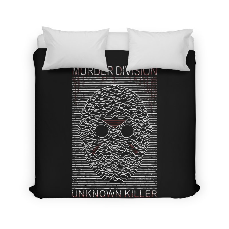 Murder Division Home Duvet by Pigboom's Artist Shop