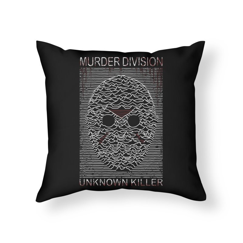 Murder Division Home Throw Pillow by Pigboom's Artist Shop