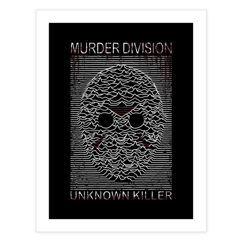 Murder Division Home Fine Art Print by Pigboom's Artist Shop