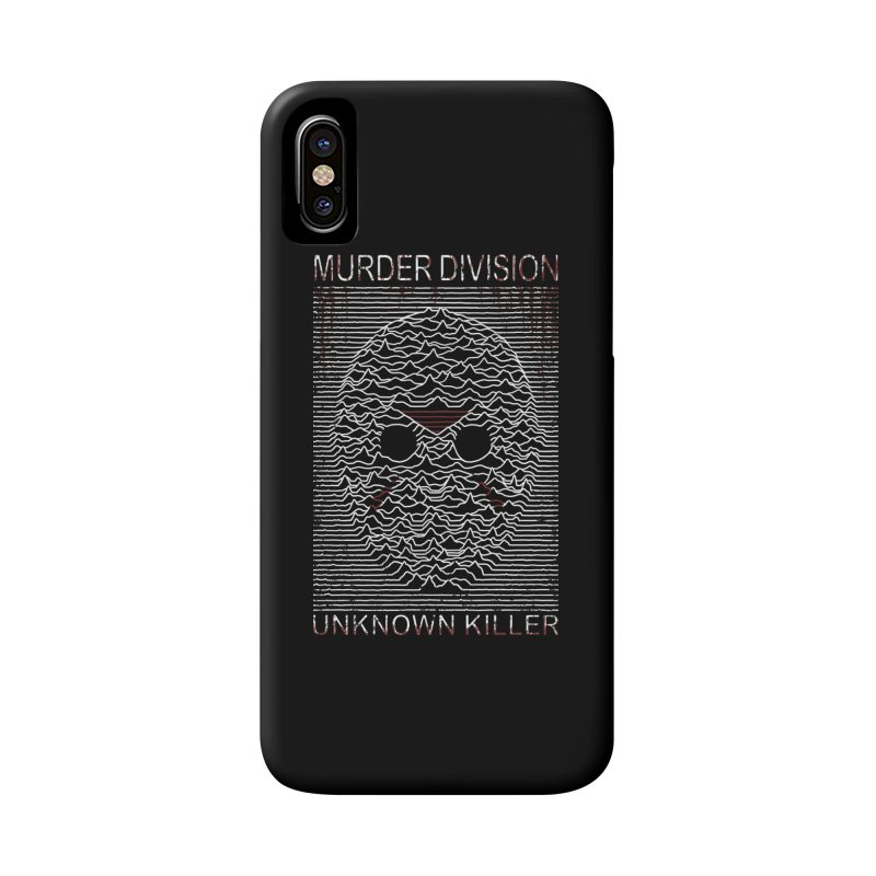 Murder Division Accessories Phone Case by Pigboom's Artist Shop