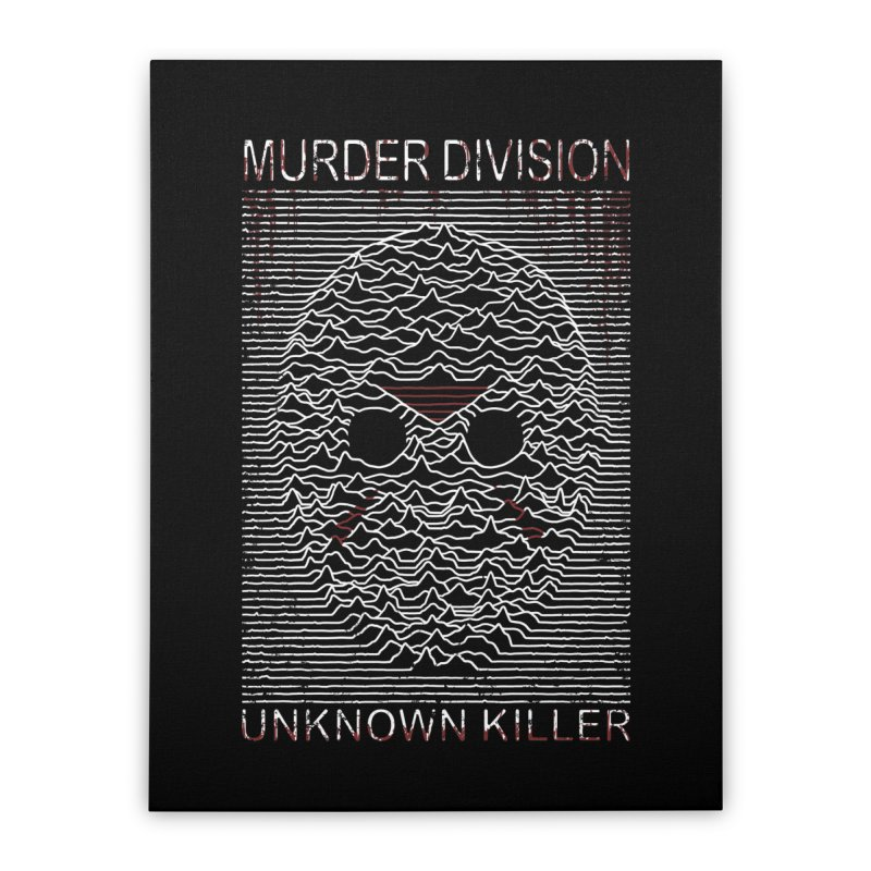 Murder Division Home Stretched Canvas by Pigboom's Artist Shop