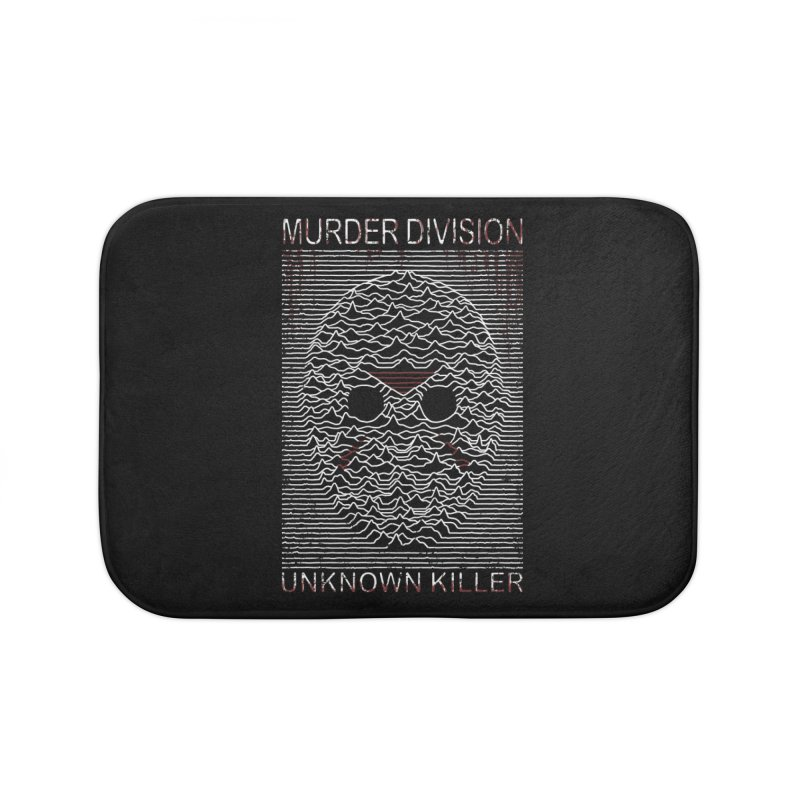Murder Division Home Bath Mat by Pigboom's Artist Shop