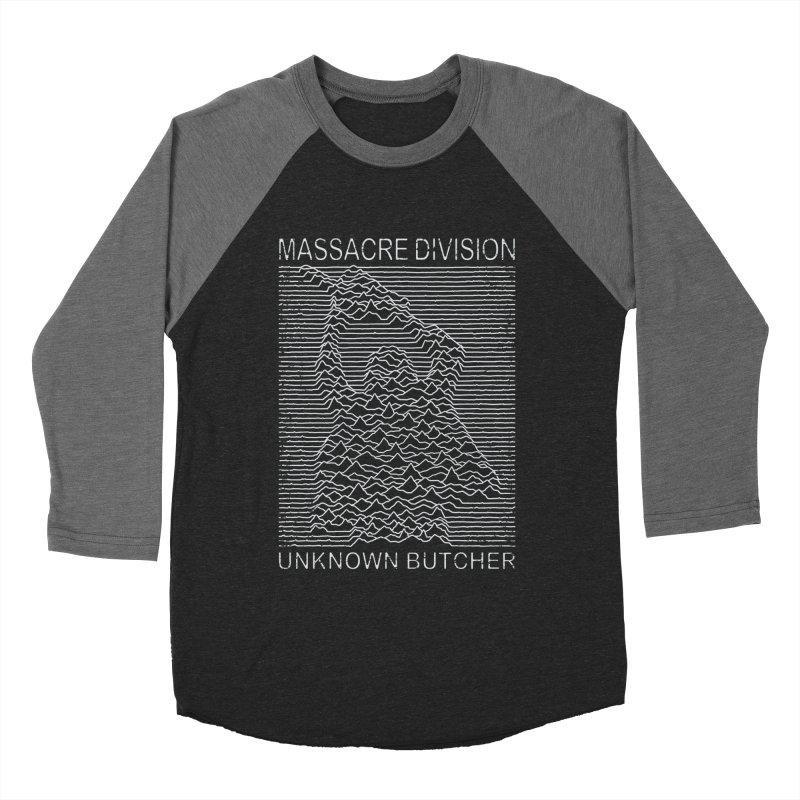 Massacre Division Men's Baseball Triblend T-Shirt by Pigboom's Artist Shop