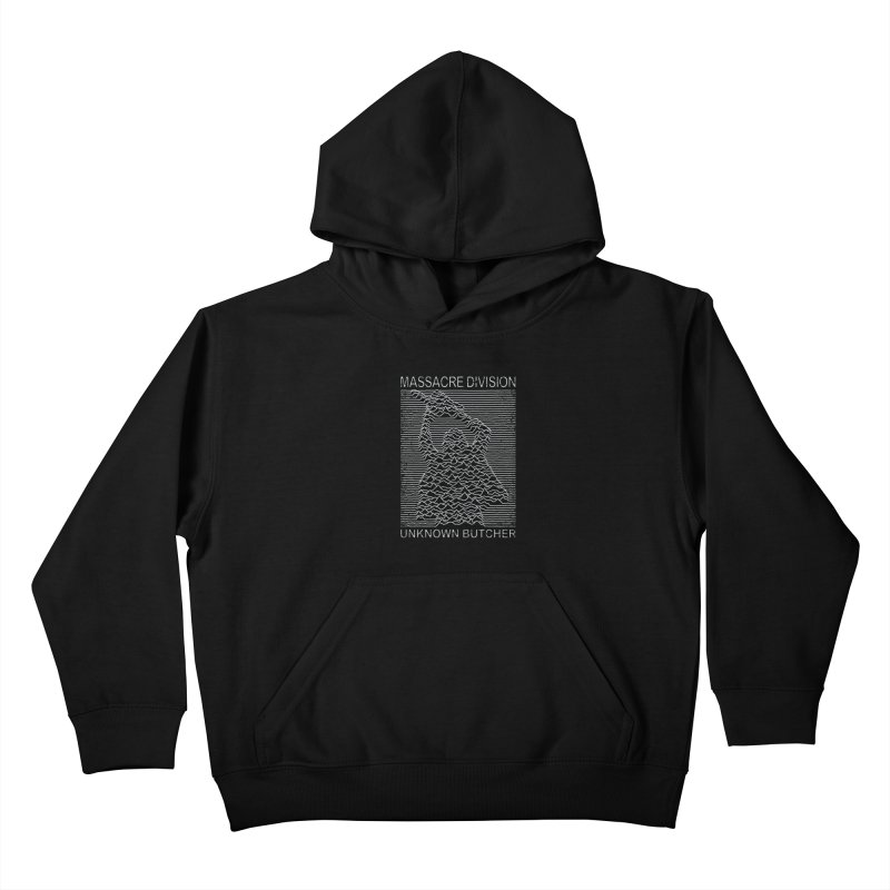 Massacre Division Kids Pullover Hoody by Pigboom's Artist Shop