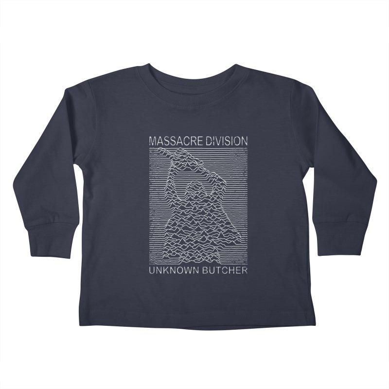 Massacre Division Kids Toddler Longsleeve T-Shirt by Pigboom's Artist Shop
