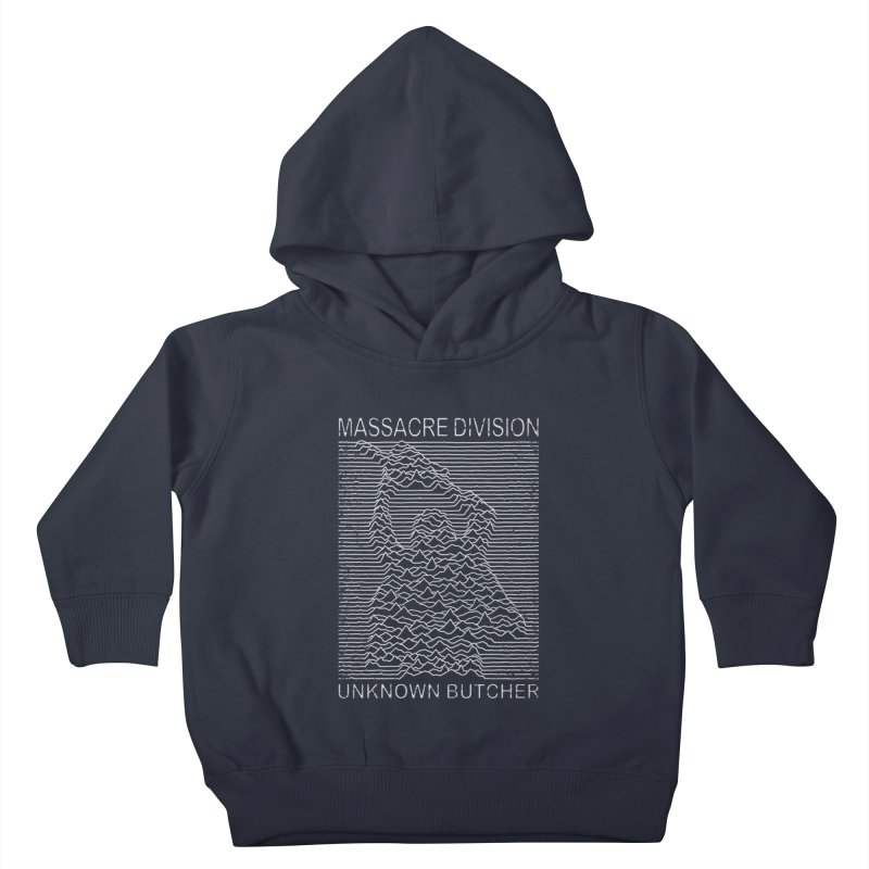 Massacre Division Kids Toddler Pullover Hoody by Pigboom's Artist Shop