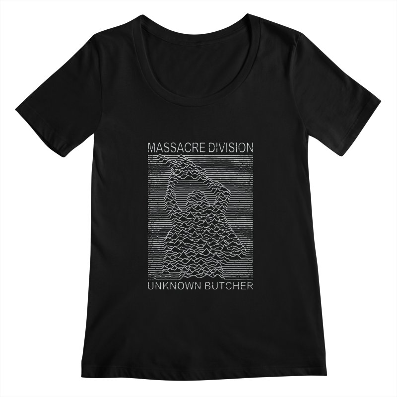 Massacre Division Women's Scoopneck by Pigboom's Artist Shop