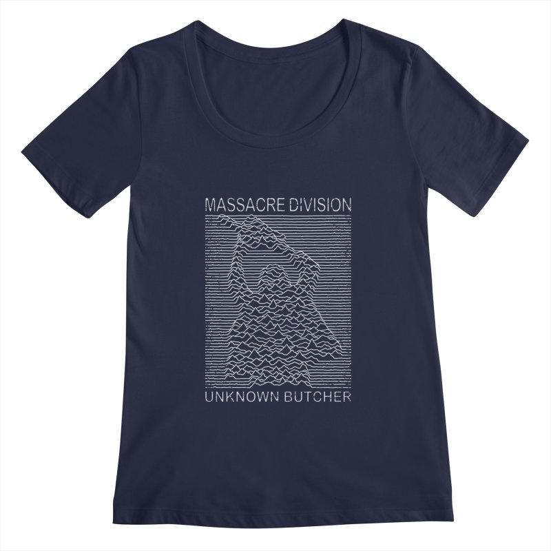 Massacre Division Women's Scoopneck by Pigboom's Artist Shop