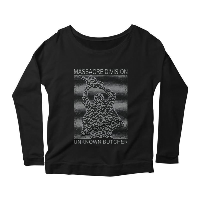 Massacre Division Women's Longsleeve Scoopneck  by Pigboom's Artist Shop