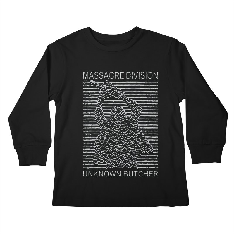 Massacre Division Kids Longsleeve T-Shirt by Pigboom's Artist Shop